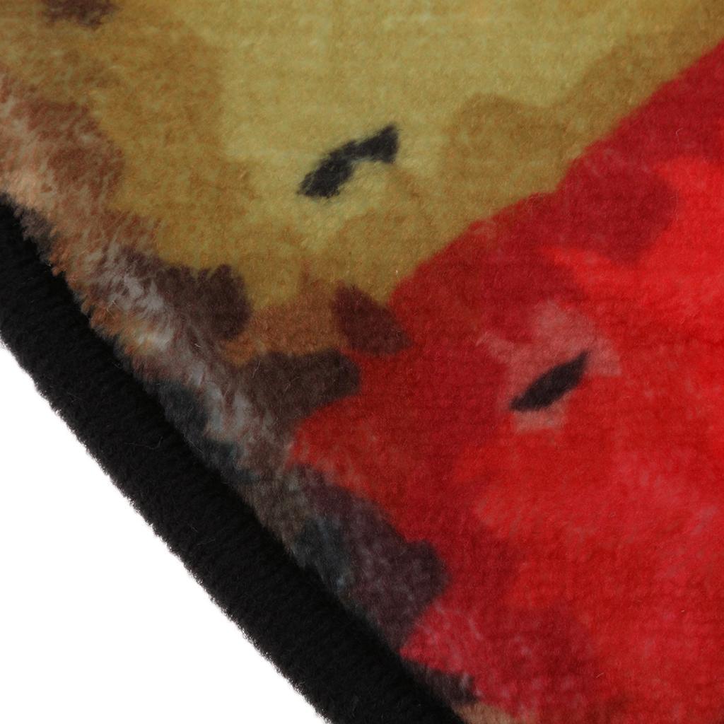 verdicken Sie Tapete Vintage Wanduhr gedruckten Teppich