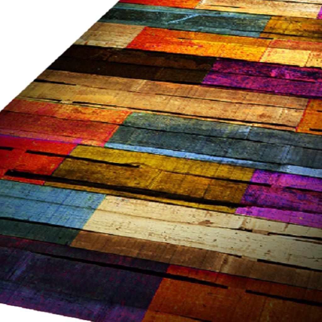 Living Room Area Rug Runner Kitchen Bedroom Anti-Skid Floor Mat Carpet 3D