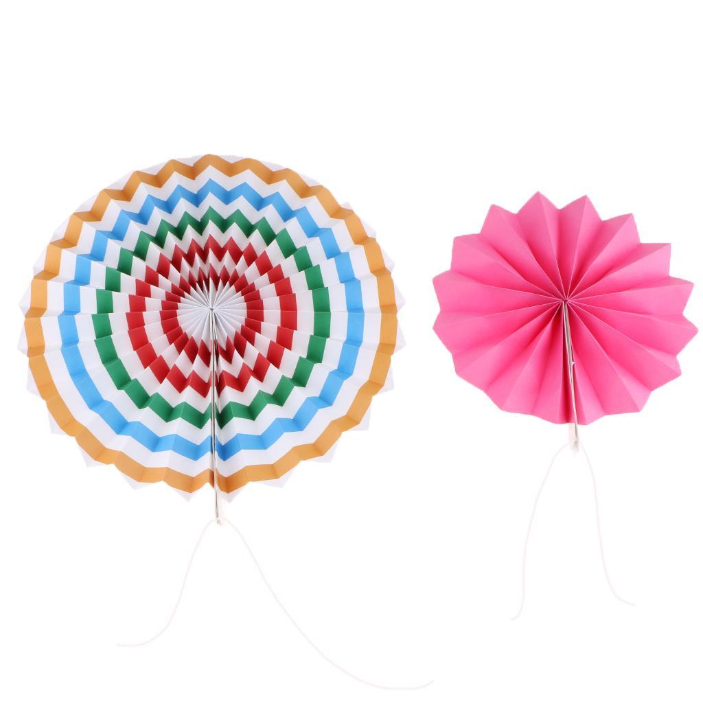 6x Honeycomb Fan Tissue Paper Pompoms Party Wedding Supplies Baby Room Decor