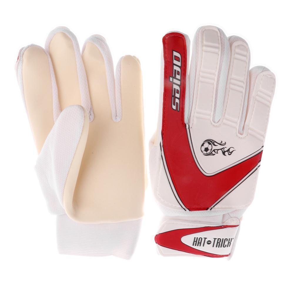 Torwarthandschuhe Torhüterhandschuhe Fußball Handschuhe für Kinder