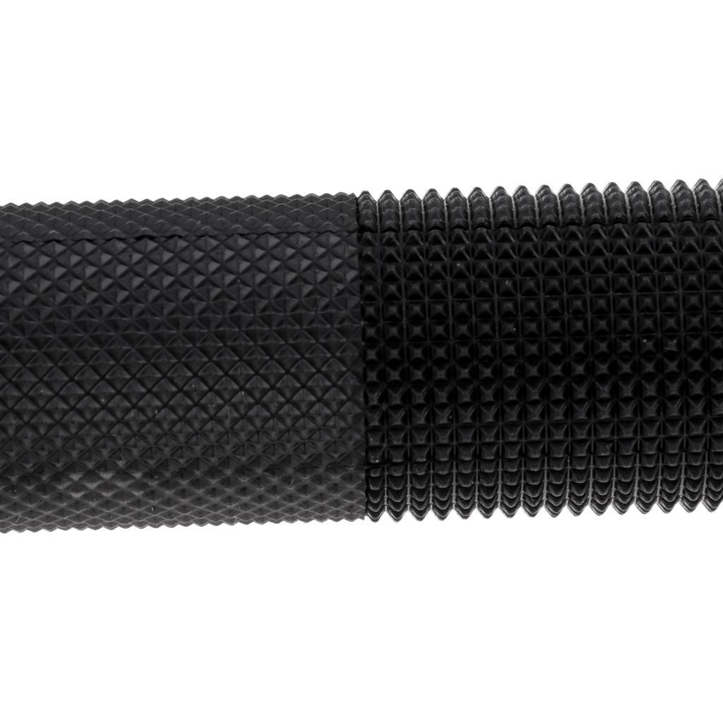 Cycling Bike Handlebar Lock-on Grips Rubber MTB Fixed Gear Grip 22.2mm Dia.