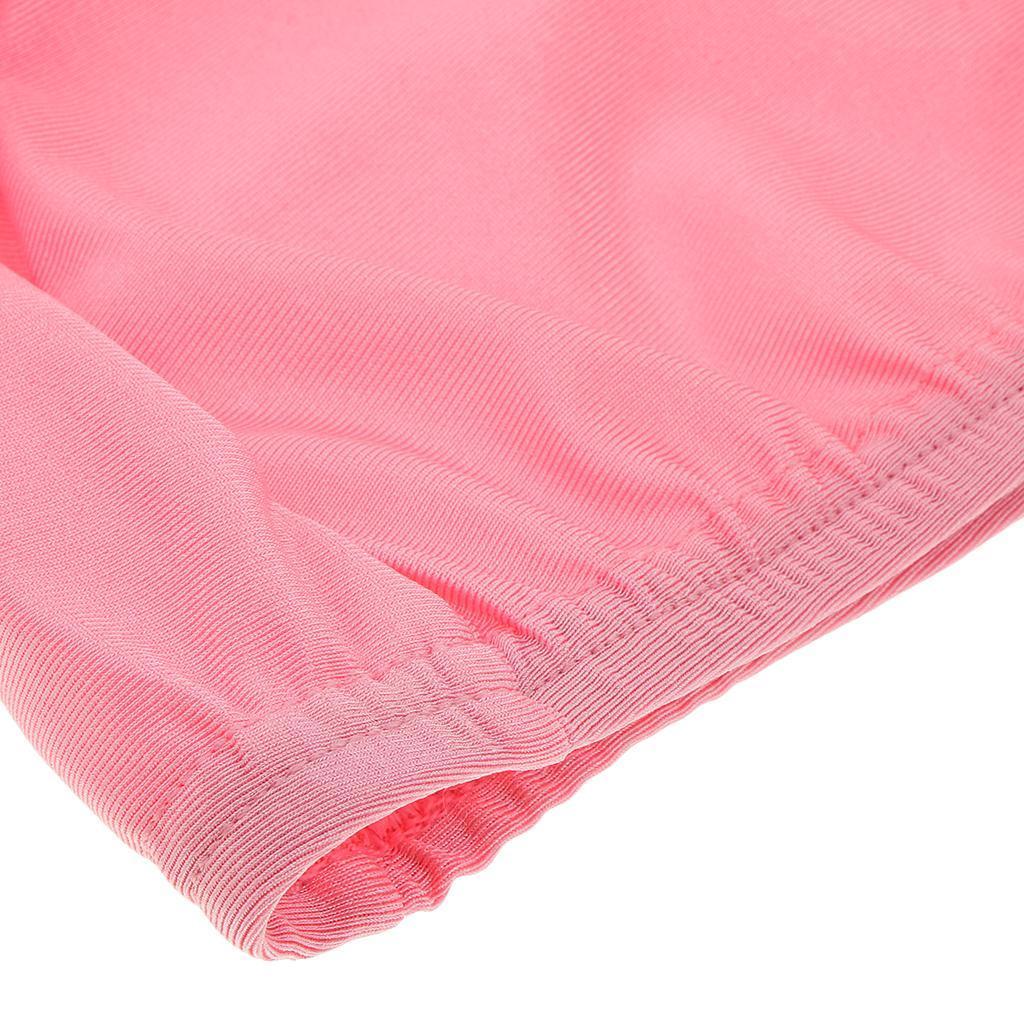 Girl Islamic Muslim Swimwear Polka Dot Modest Burkini Cap Kids Arab Swim Costume