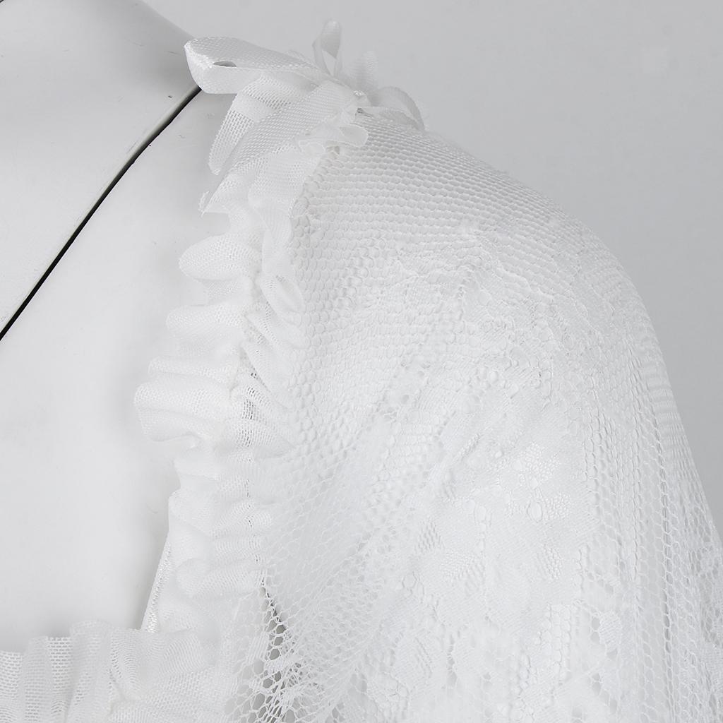 Wedding Corset Overbust Bustier Lace Up Waist Shaper Prom Dress Long Sleeve