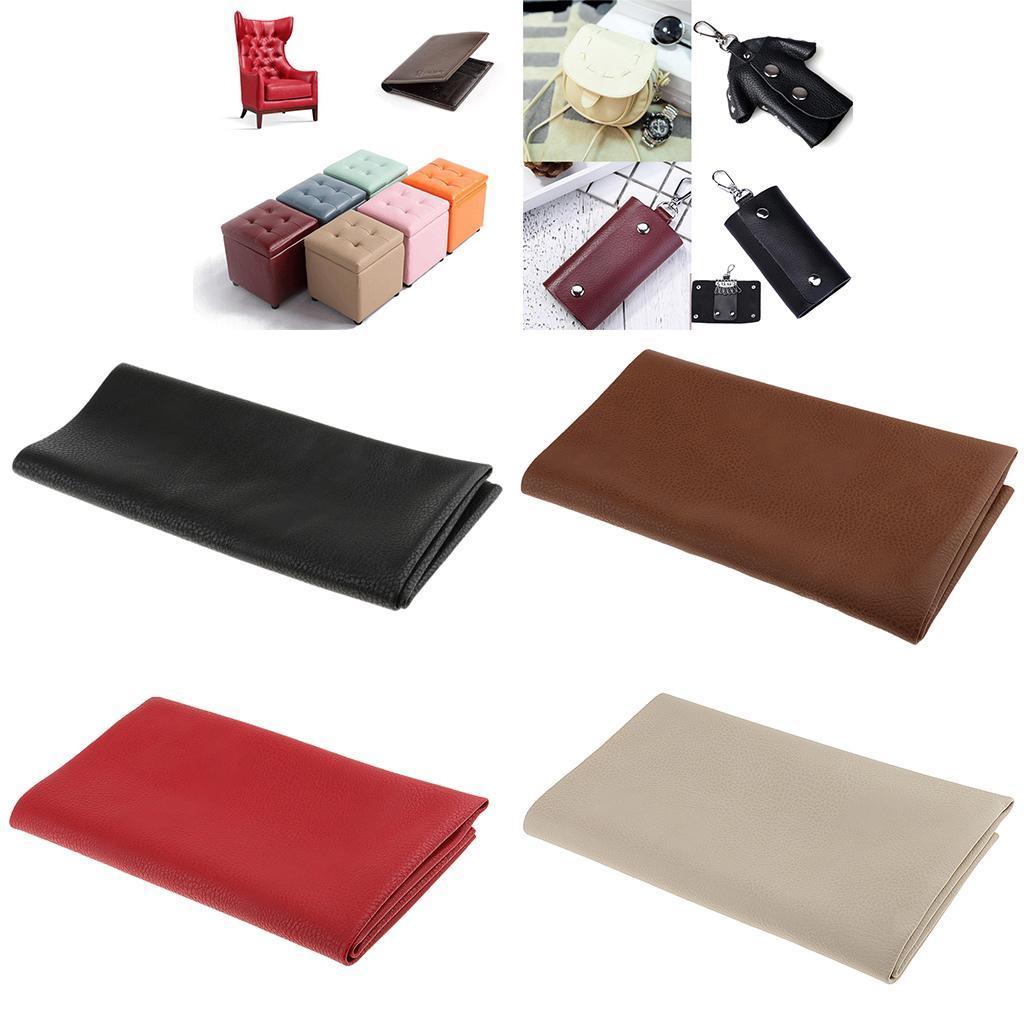 Pu Leder Stoff Zum Nähen Diy Tasche Material Leder Handwerk Zubehör 50x50