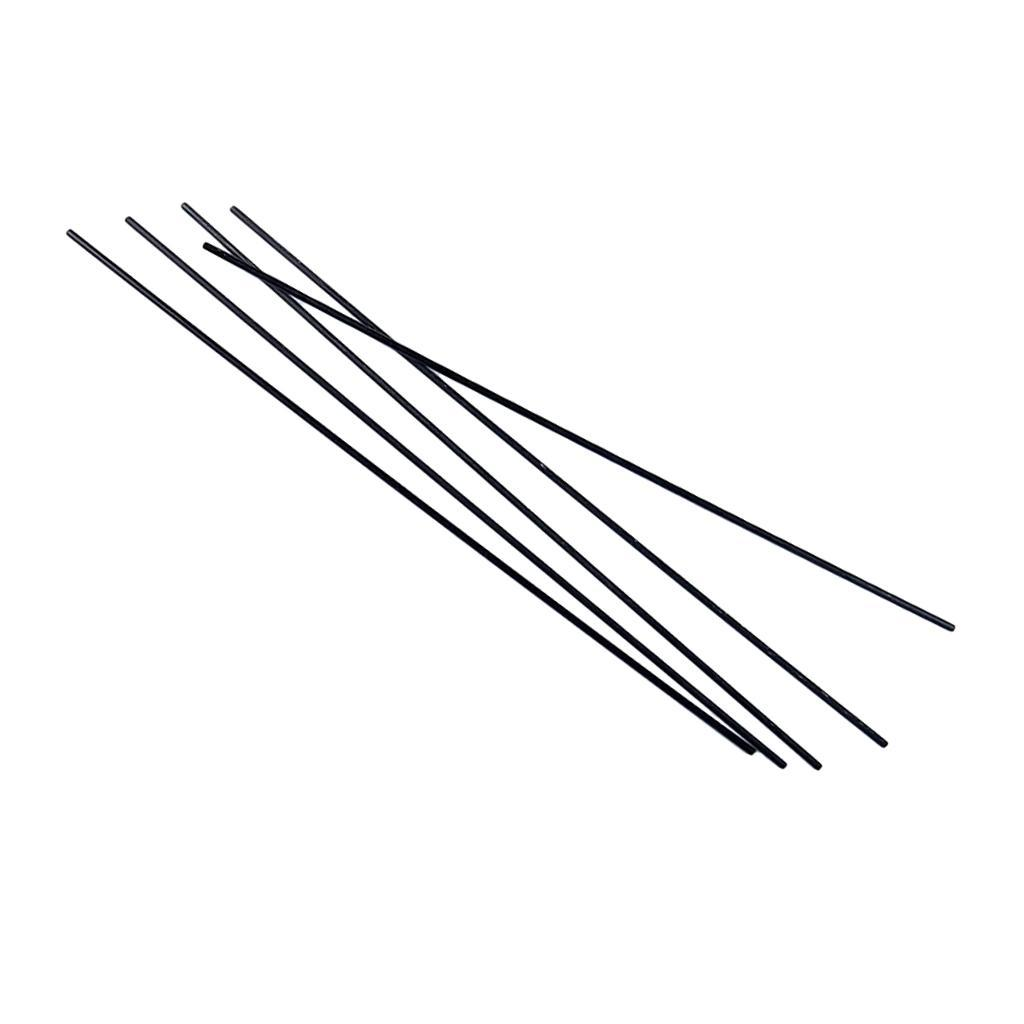 5pcs Black Carbon Fiber Tube Rod for RC Quadcopter Xcopter Wing /& Tail Parts
