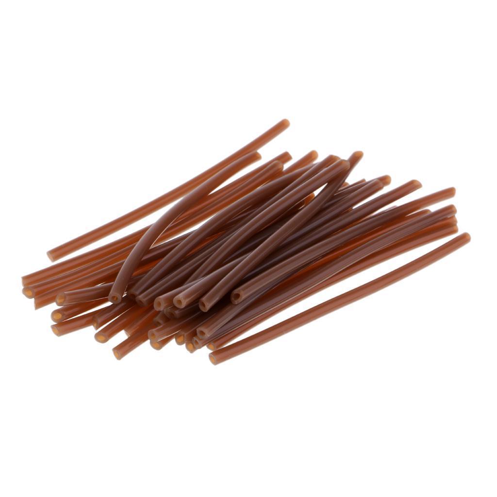 30 Stück Haar Rig Schutz Anti Tube Karpfen Grob Angelgerät Zubehör