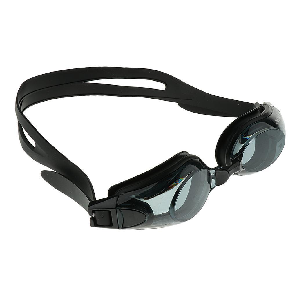 Optical Swimming Goggles Prescription Anti Fog Swim Glasses UV Protect Adult