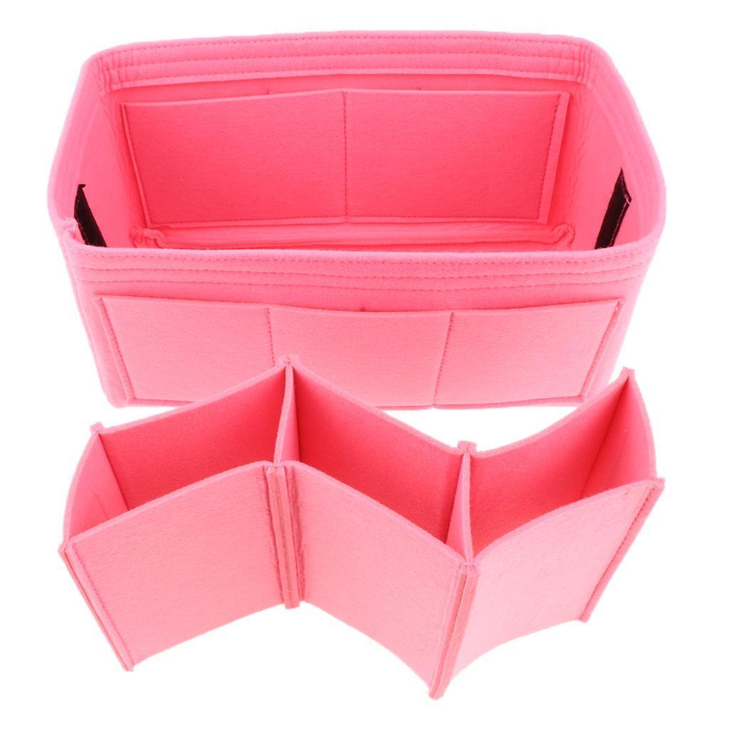 Filz-Einsatz-Beutel-Organisator-Tasche in der Tasche für