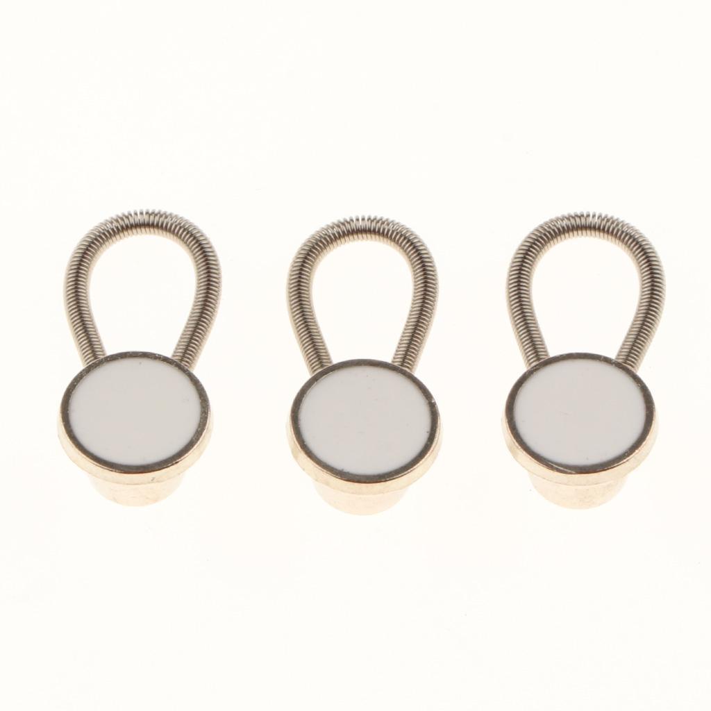 10x Collar Extender//Wonder Button for 1//2 Size Expansion of Men Dress Shirt