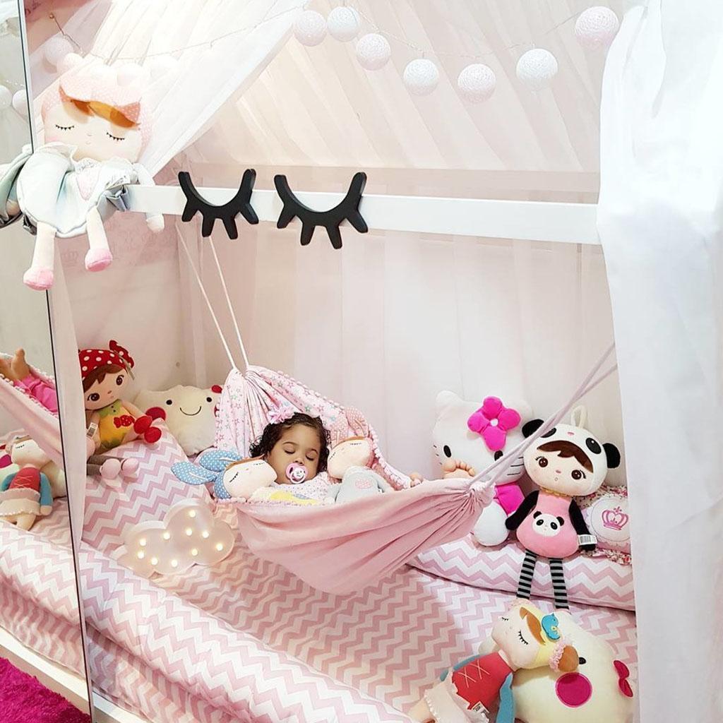 Baby Hammock Hanging Crib Cradle Cot Bed Swing Sleep Seat Outdoor Home Travel