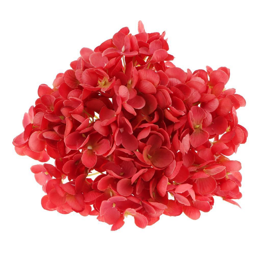 Künstliche Hortensie Bouquet für Hochzeit Home Party Dekoration,