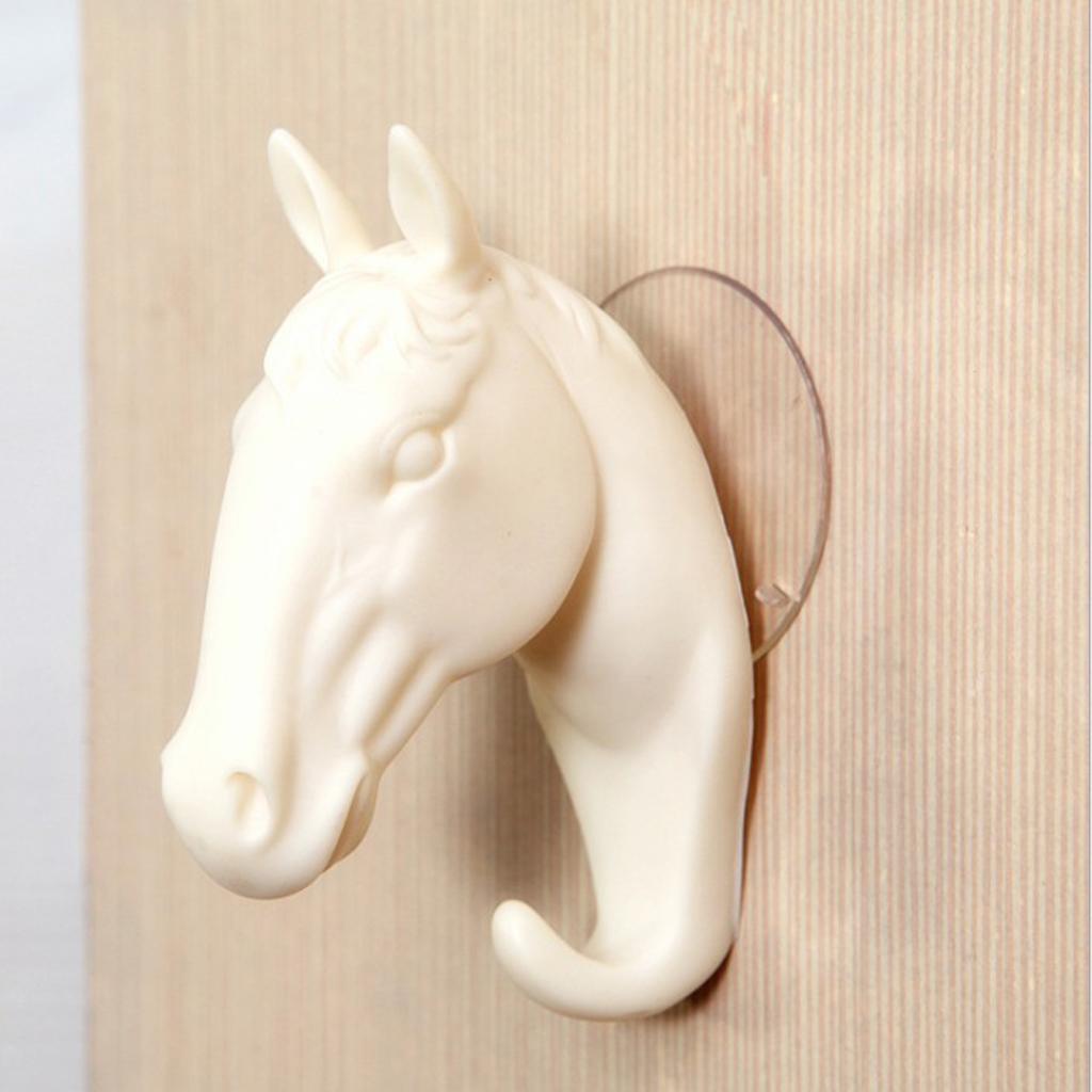 Kreative 3D PVC Tierkopf Wandhaken Kinderzimmer Kleiderbügel Hut Haken