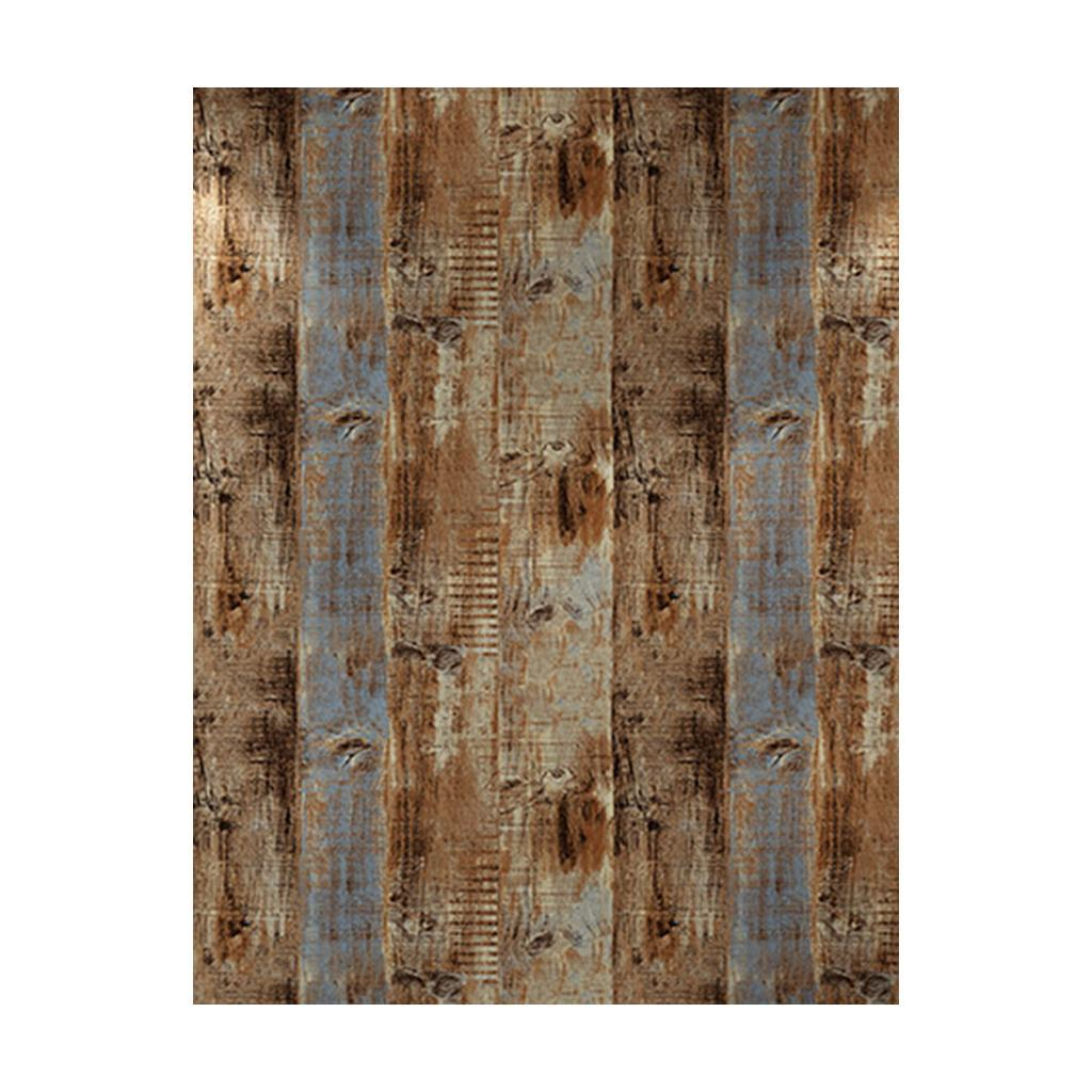 Wood Textured Waterproof Background Wall Paper Coverings for Kitchen Decor
