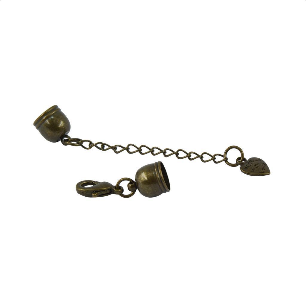 10 x Karabiner-Verschluss für Bänder Schmuckverschluss 60mm Ketten-Verschluß