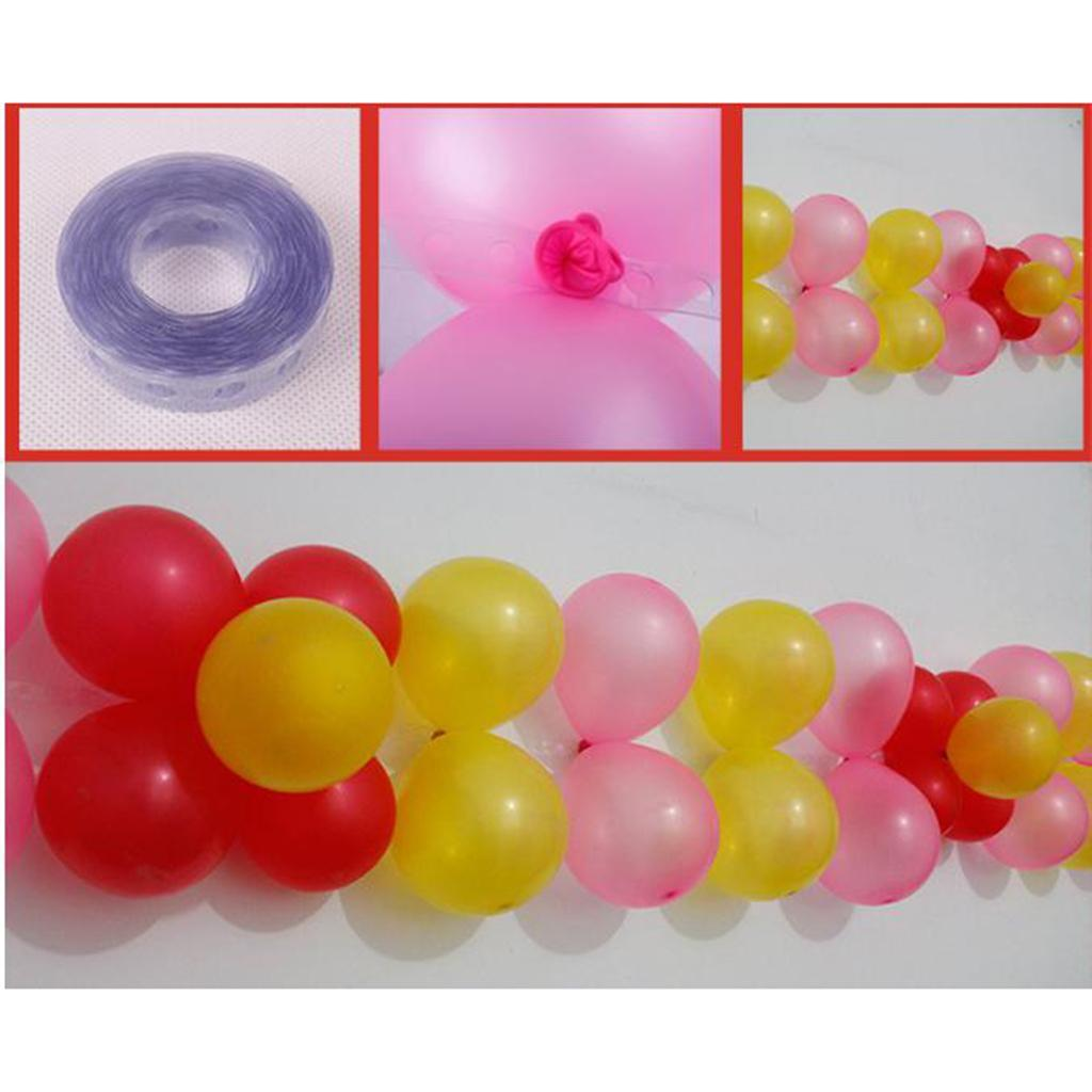 5M Balloon Decorating Arch Connect Strip For Wedding Birthday Party Favours
