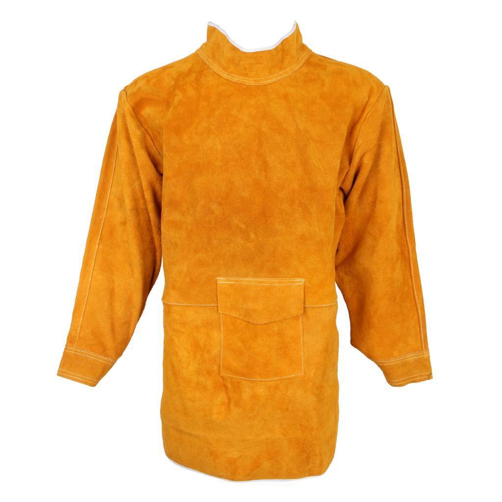 Welder Welding Long Coat Apron Protective Clothing Apparel 85cm,110cm 150cm