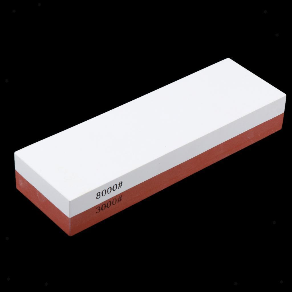 DoubleSided Afilador de cuchillos afilar cuchillos Piedras Colores especificaciones de herramienta