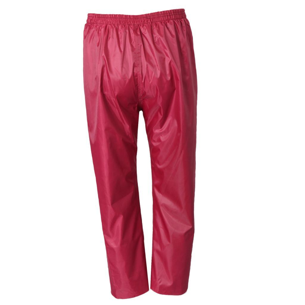 Waterproof Rain Over Trousers Camping Fishing Outdoor Rain Pants Breathable