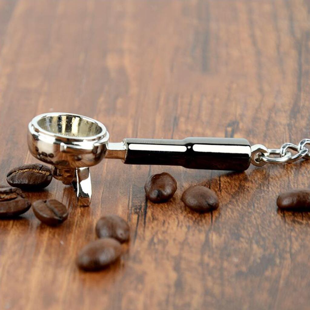 Portachiavi In metallo Di Zinco Astucci Portachiavi A Coffè Set