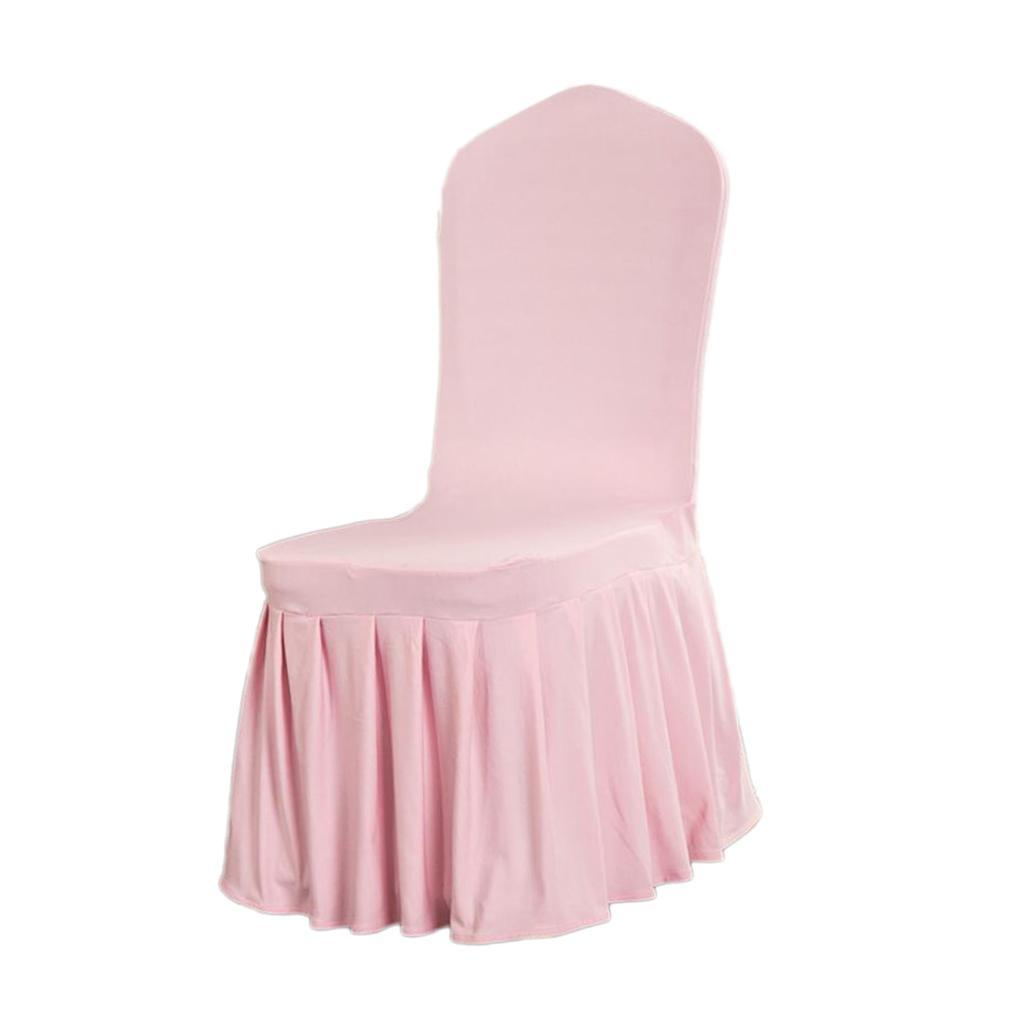 Stretch Spandex Chair Cover Banquet Chair Slipcover Wedding Party Site Decor