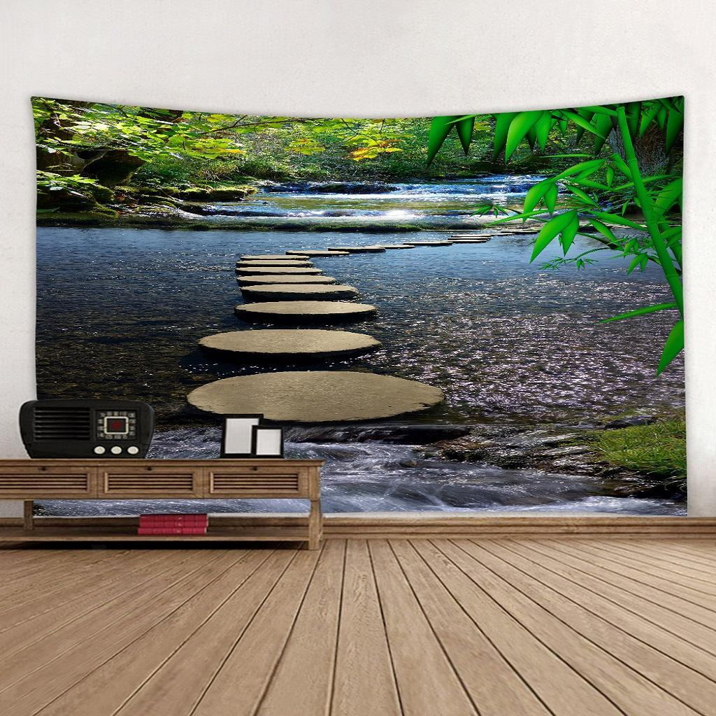 Groß Wandtuch Elefant Wald Wandteppich 150x200 Wandbehang Tischdecke