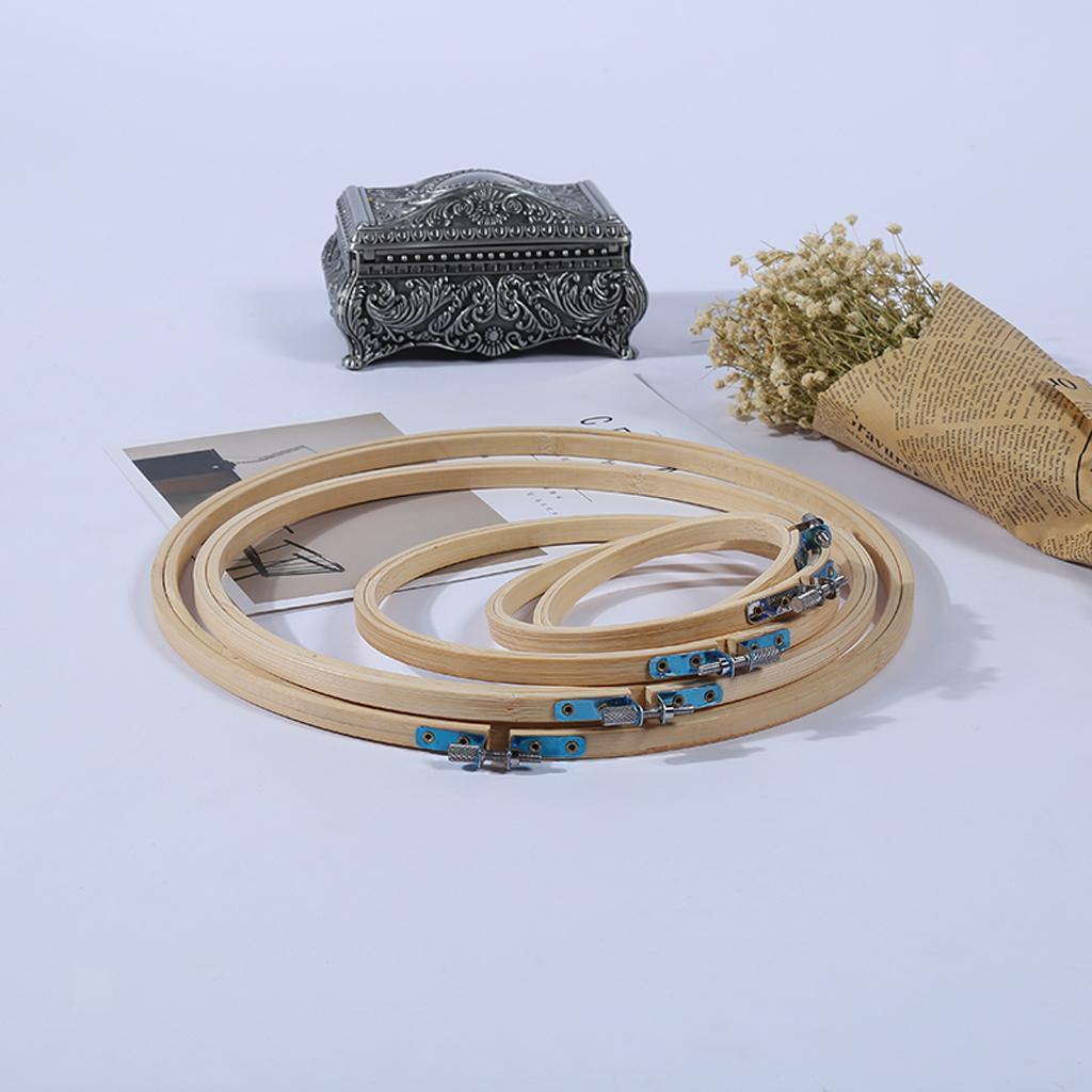 Bamboo cross stitch Machine Embroidery Hoop Anneau à coudre 3//4//5//6//7//8//9//10//12