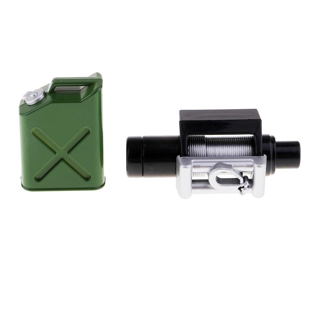 4 RC 1 Set 1//10 Skala Metall Mini Gepäck Zubehör Dekor für Traxxas