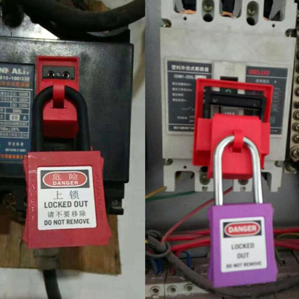 Strong Safety Lockout Padlock Lock Keyed Stainless Steel Safe Mooring Rope