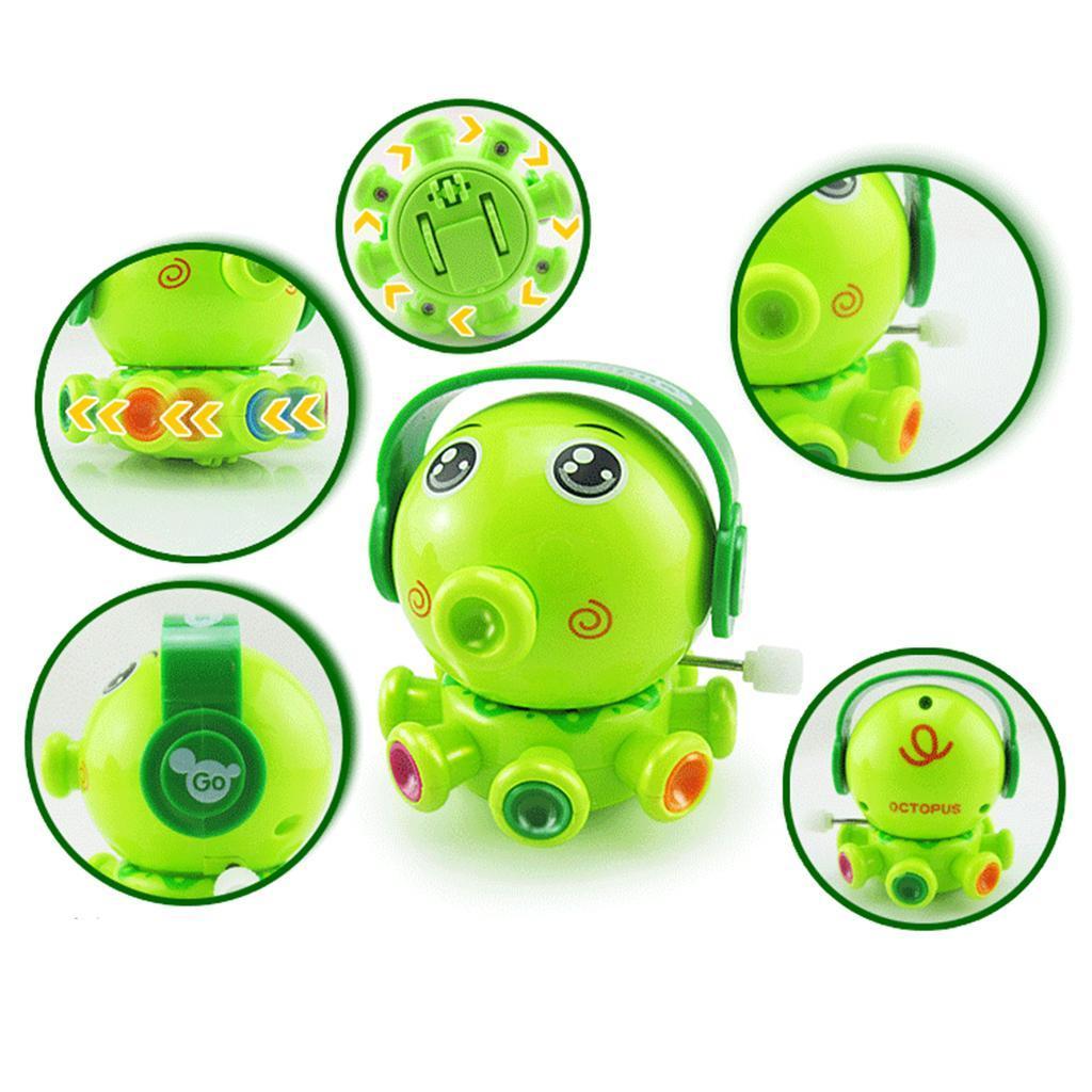 Giocattolo Meccanismo Carica Orologeria Wind-Up Clockwork Bambini Plastica