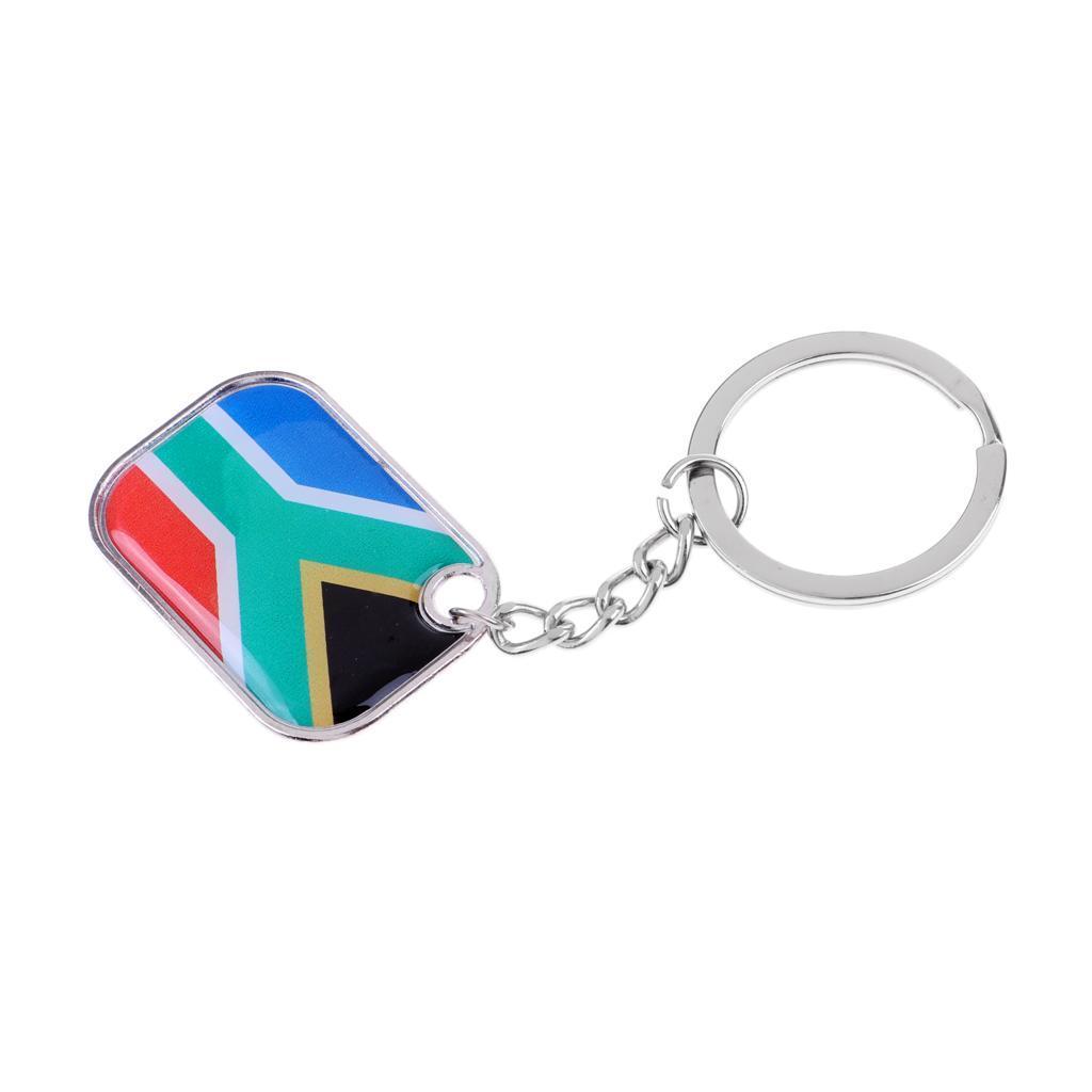Soccer Keyring Women Men/'s Fashion Flag Key Chain Keyring Collectible Gifts