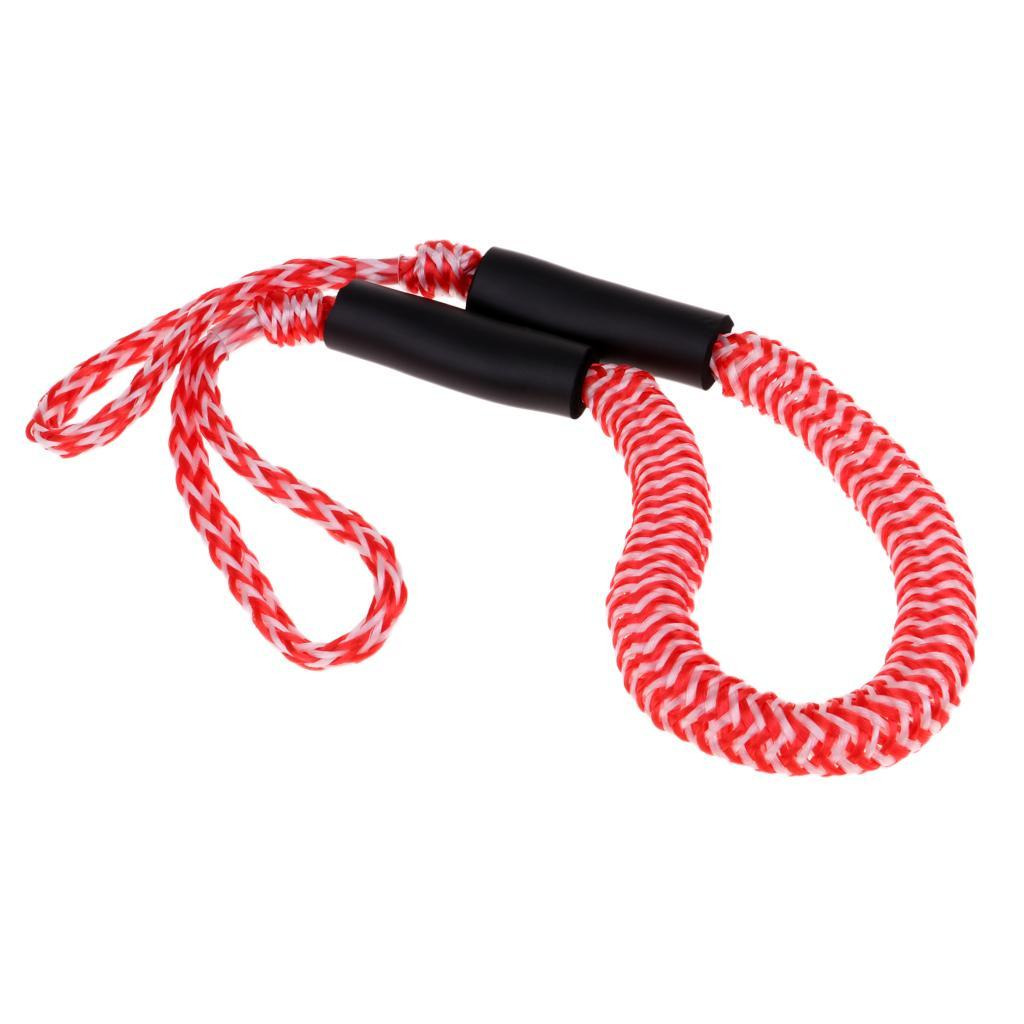 Boat Rope Dock line Bungee Cord 3.5ft Stretches to 6ft 1600LB for Kayak Boat