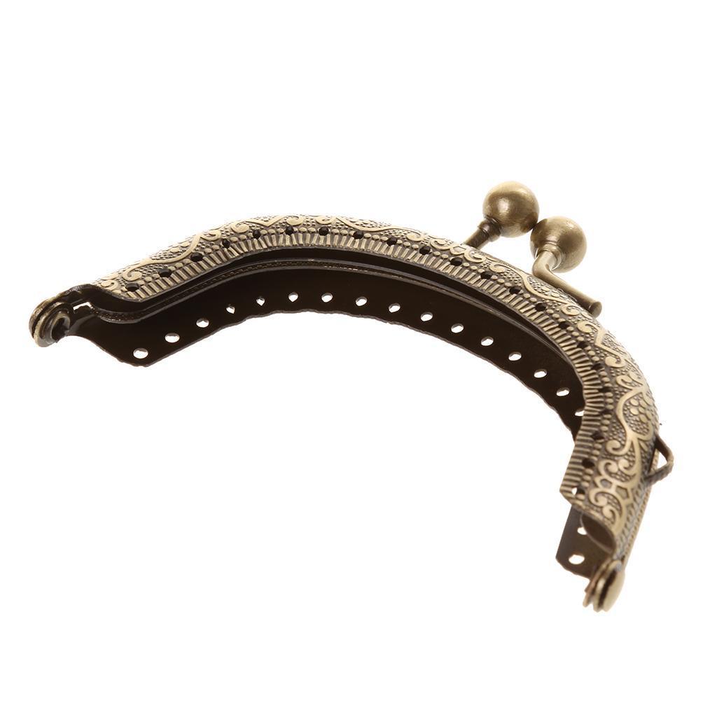 Retro Bronze Nähen Kuss Verschluss Rahmen Taschenrahmen Taschenbügel