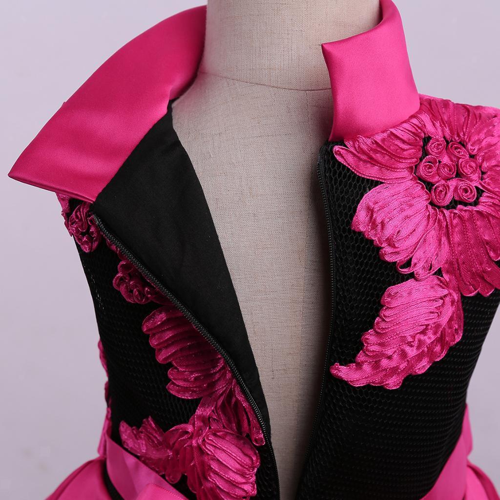 Kinder Kleider festlich Mädchen Taufkleid Blumensmädchenkleid Maxikleid