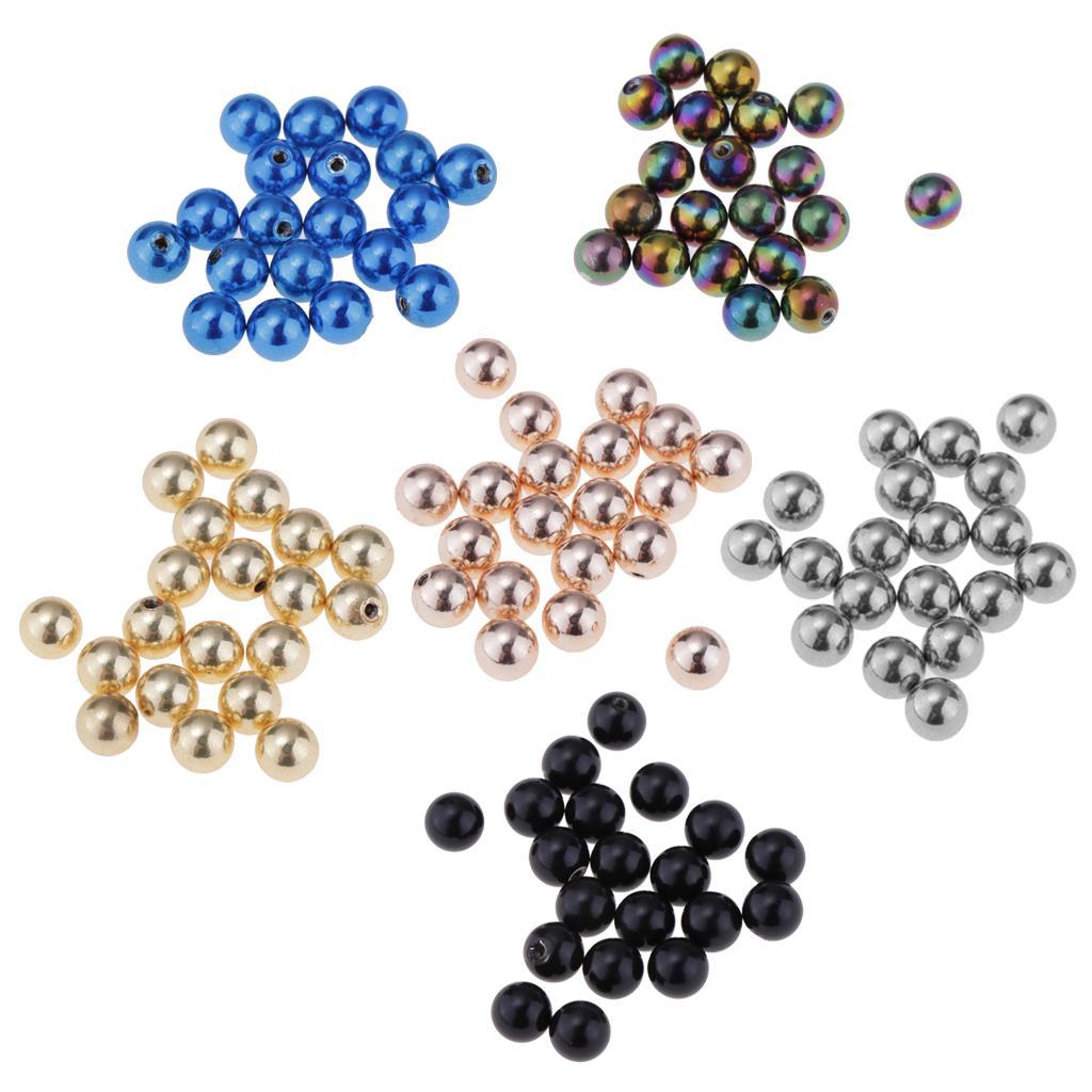 20pcs 16G Stainless Steel Replacement Balls 5mm Closure Ball Bod Jewelry DIY