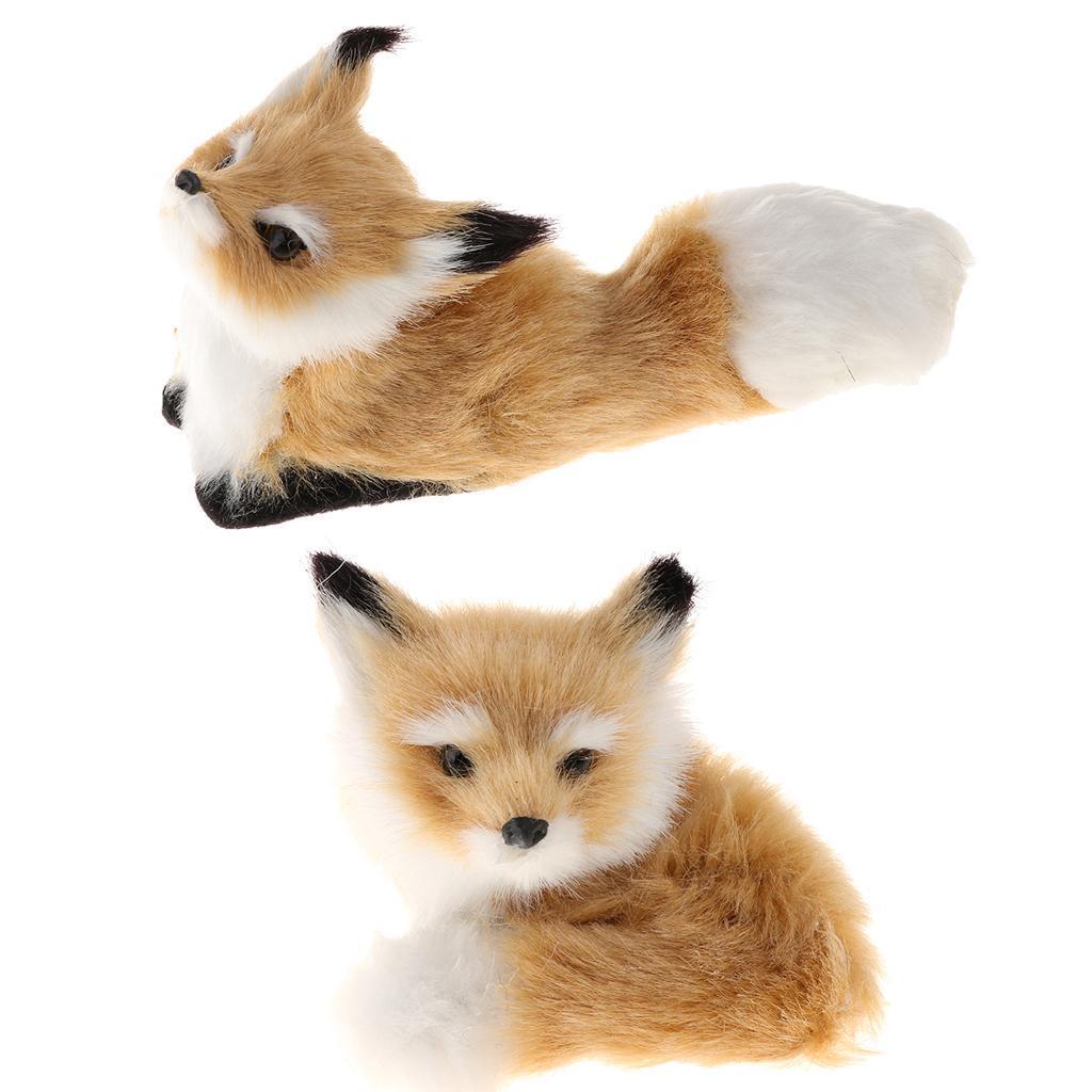 Kleine Fuchs Plüsch Figuren Plüschtiere Kuscheltier Stofftiere Spielzeug