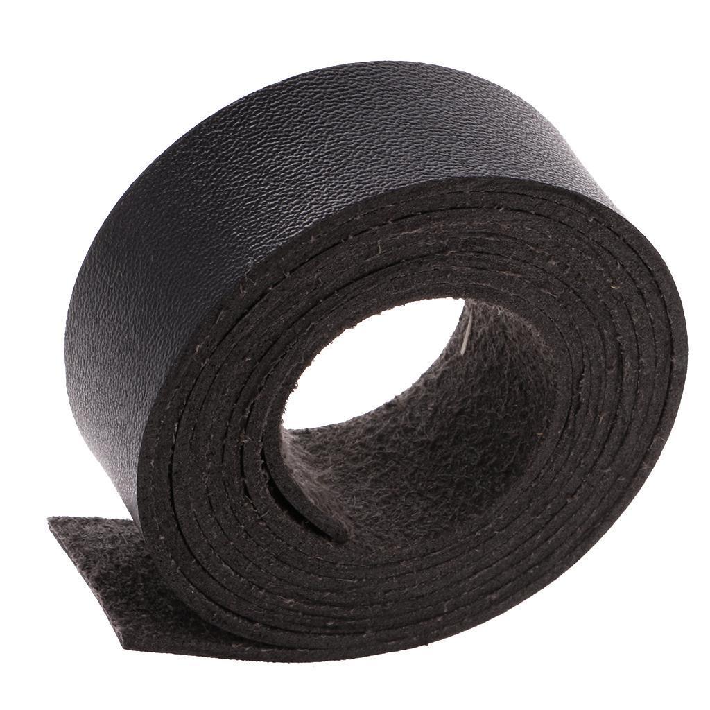 2 M Lederband Lederriemen Lederbänder flach zum Basteln Dekorieren