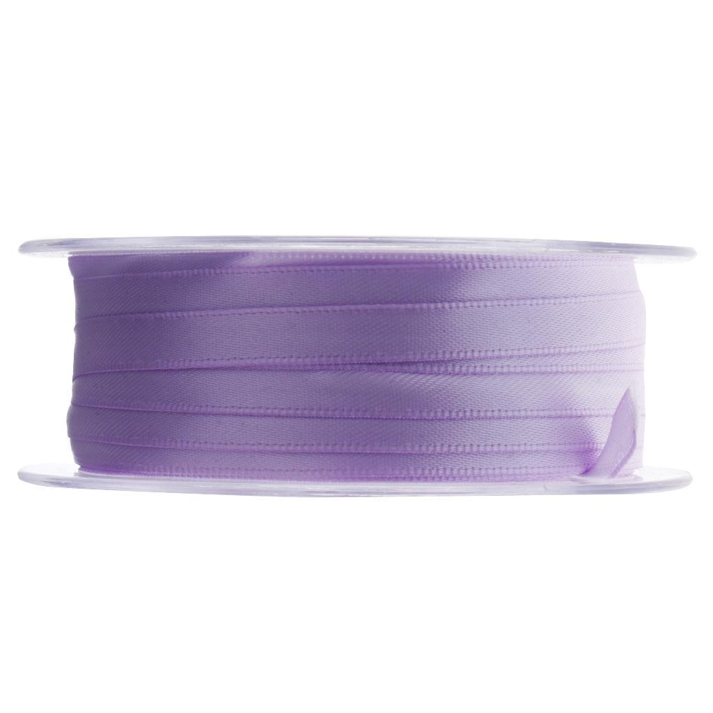 22Colors Solid Satin Ribbons Polyester Ribbon for Clothing Hair Crafts DIY