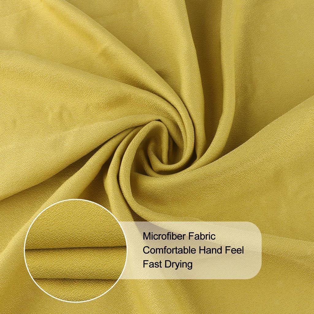 Sporthandtuch Set mit Schutzhülle schnelltrocknend Mikrofaser Handtücher