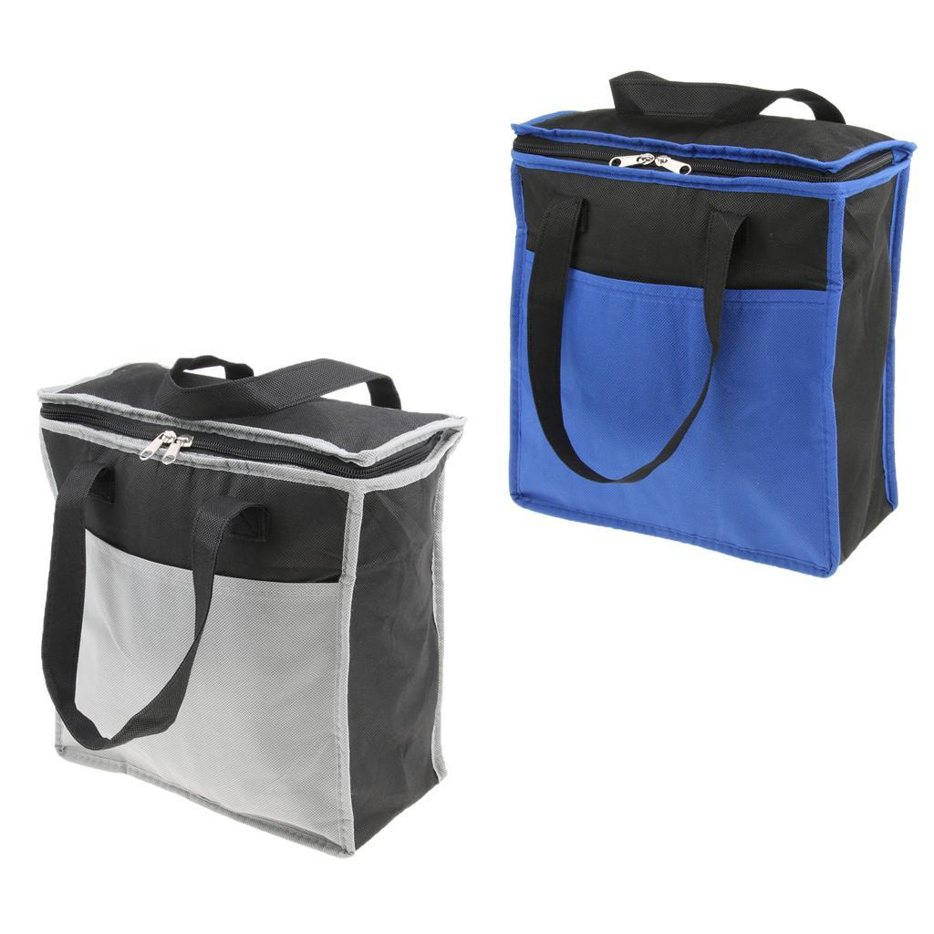 15L Picknick Kühltasche Lunchtasche Mittagessen Tasche Picknick Thermotasche