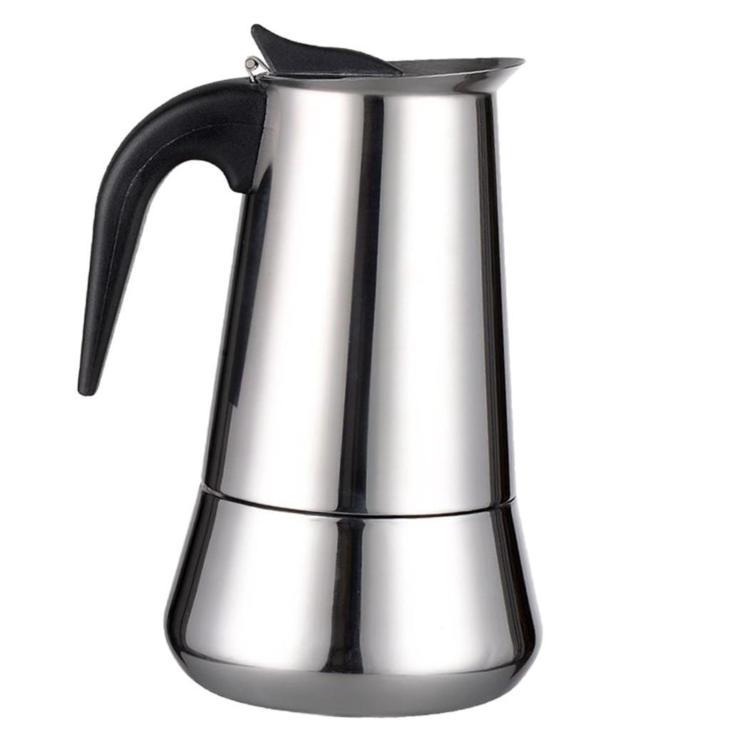 Percolatore per caffettiera espresso Moka Espresso in acciaio inossidabile