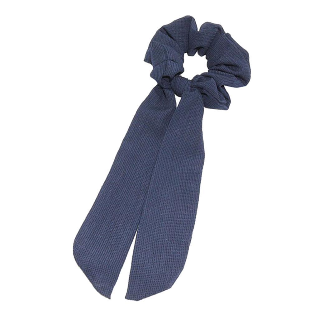 Hair Scrunchies Elastic Hair Bands Hair Scarf Ponytail Holder Scrunchy Ties