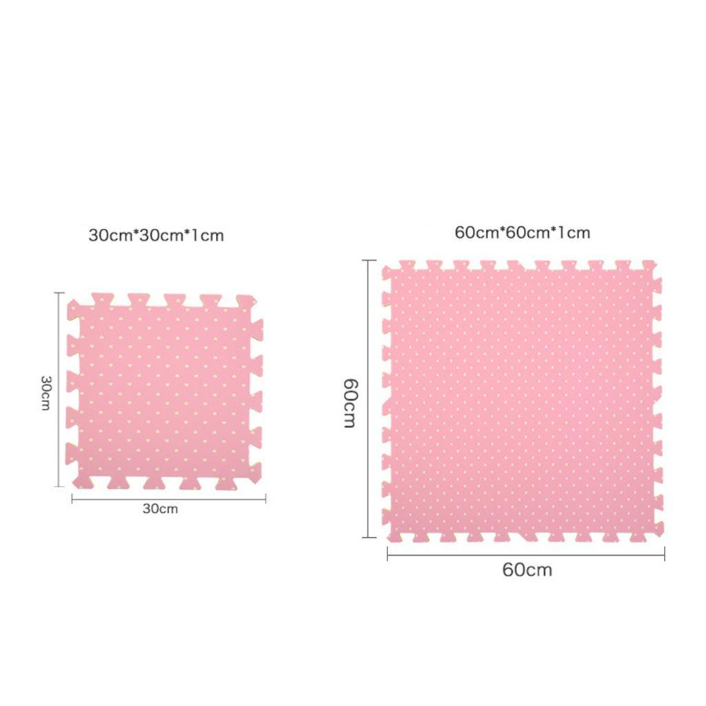 9 Pieces  Foam Mat Floor Tiles Kids Play Mats Puzzle Mat 30*30cm