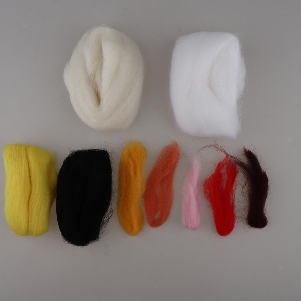 DIY Wool Felting Craft Needle Felt Animal Kit Set Handmade Kid Birthday Gift