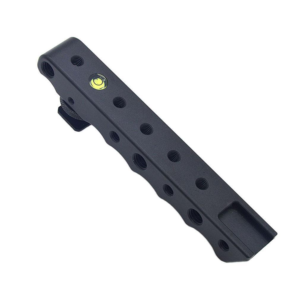 Cámara SLR Manija superior queso Empuñadura Extensor de Zapato frío Estabilizador para D