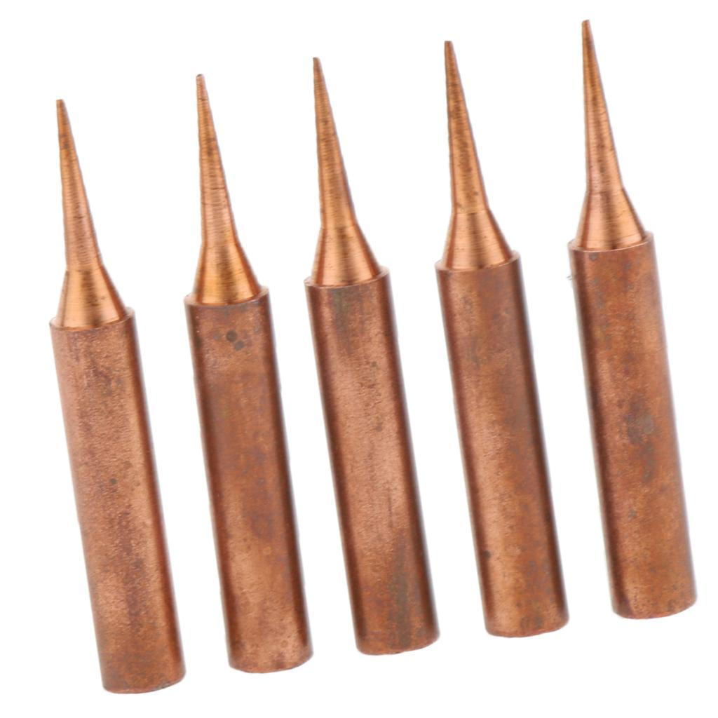 Packung mit 5 Stück 936 reinem Kupfer bleifreien Lötspitzen für Löten