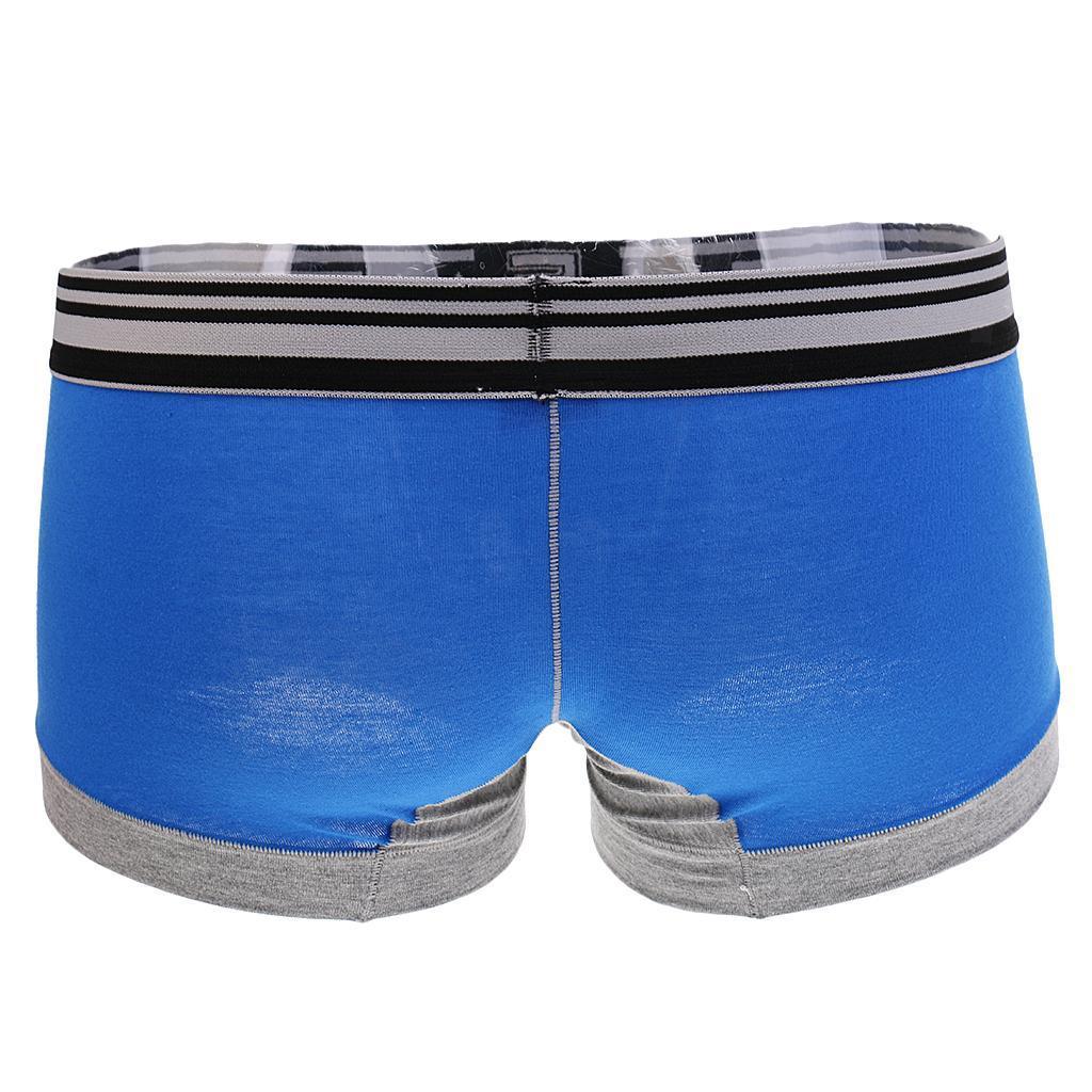 Männer Boxershorts Baumwolle Unterhose Herren Unterwäsche Pants Hupster