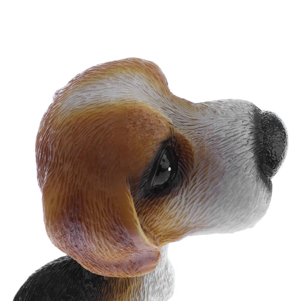 Lifelike Shaking Head Doll Bobbing Dog Toys Home Decor Car Interior Ornaments