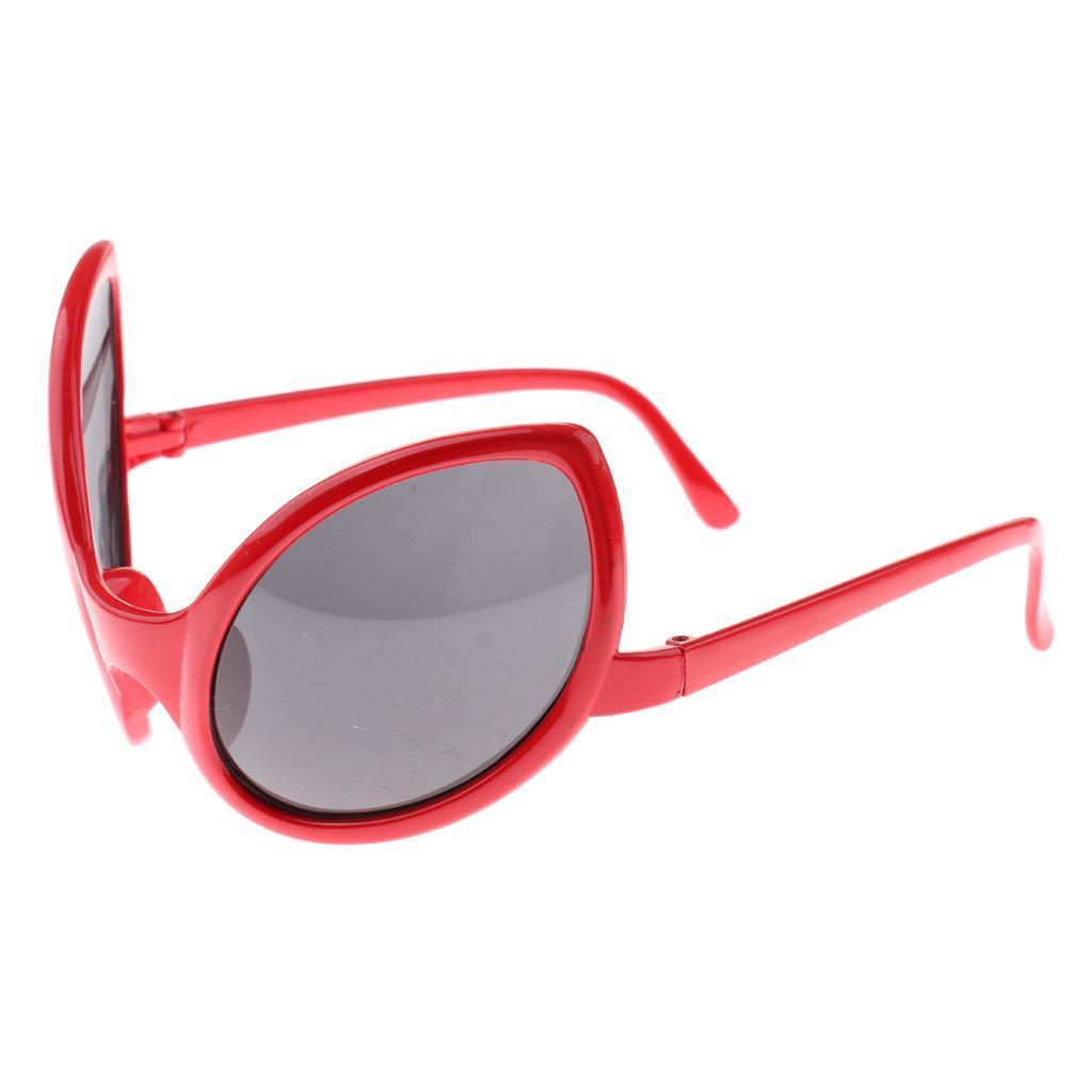 Monoblock Futuristic  Mirrored Sunglasses Alien Glasses Costume Props