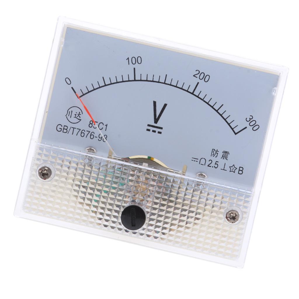 85c1 dc rechteck amperemeter amp stromtester analog panel voltmeter