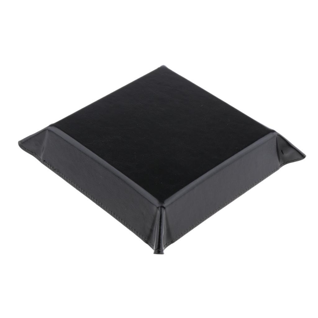 Board Game Dice Storage Collapsible Desktop Storage Box Rolling Dice Tray